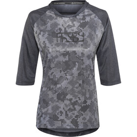 IXS Carve 3/4 Jersey Women black/camo